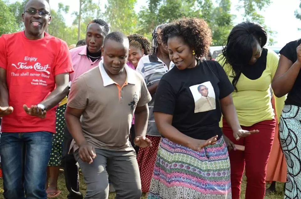 Gloria Muliro's touching message as her father was laid to rest