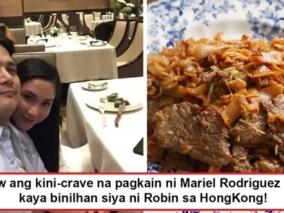 Hinamak niya ang pagitan ng HongKong at Pinas! Robin Padilla buys Mariel Rodriguez's breakfast in HK to satisfy wife's cravings