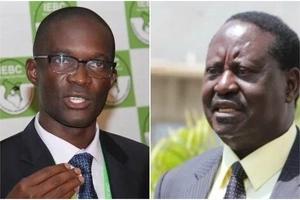 Raila amtumia mkuu wa IEBC Onyo kali kuhusu tenda ya uchapishaji wa kura aliyopea Al Ghurair