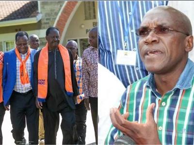 Ubabe wa Kisiasa washuhudiwa Kakamega, mbele ya Raila Odinga