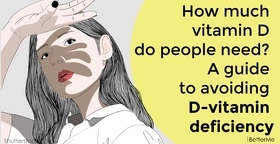How much vitamin D do people need? A guide to avoiding D-vitamin deficiency