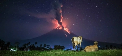 Maganda pa rin sa kabila ng kaakibat na peligro! Netizens react to majestic Mayon as it releases lava fountain in the midst of a quiet morning