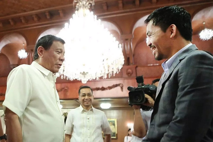 Pacquiao: Only God can change Duterte