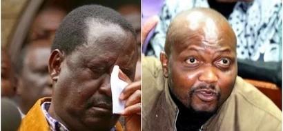 Outrage after Moses Kuria prays to God for Raila's death