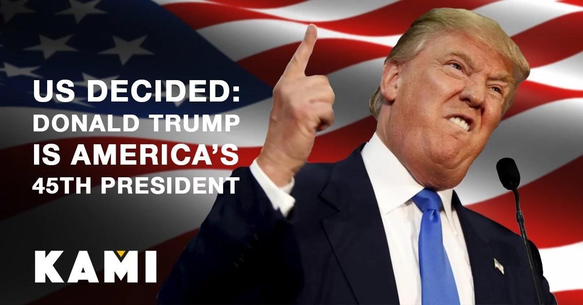 Trump wins! Donald Trump is America's 45th president!
