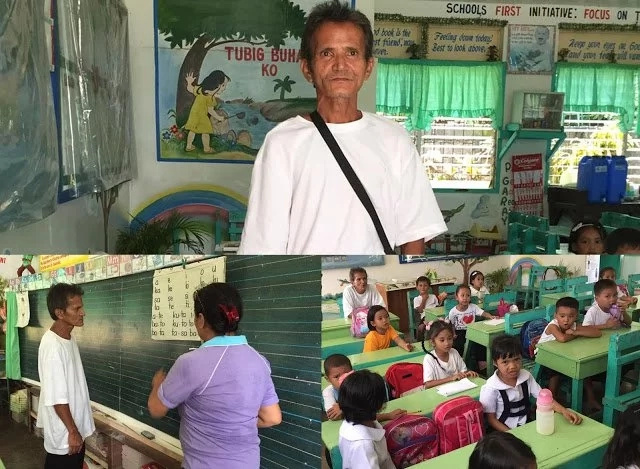 52-year old farmer returned to school as Grade 1 student