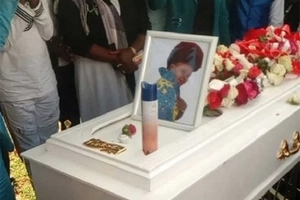 Gospel singer Gloria laid to rest after perishing in a grisly road accident