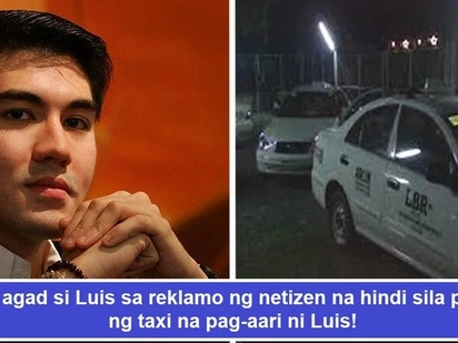 Marunong humingi ng paumanhin! Luis Manzano earns praises after issuing apology to passenger refused a ride by his company's taxi driver