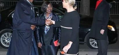 PHOTOS: Uhuru Kenyatta Arrives In France For Climate Change Talks