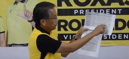 Roxas proves Duterte's dollar account in BPI
