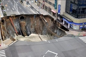 Is It Armageddon? Giant Sinkhole In Japanese City Is Just GROWING