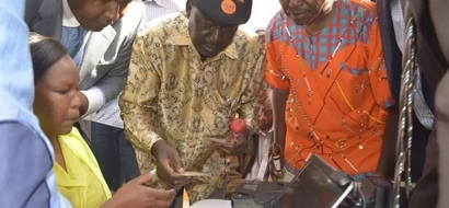 IEBC comes clear on Raila's claims that they are registering voters twice