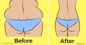 10-minute workout which will melt your back fat