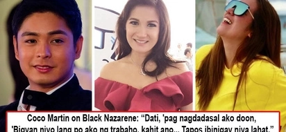 Dahil sa pananampalataya! 5 famous Pinoy celebrities with deep devotions to the Black Nazarene