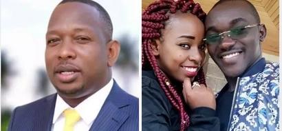 Huu ndio UKWELI kuhusu uhusiano kati ya seneta Mike Sonko na mwanamume aliyemwoa binti yake