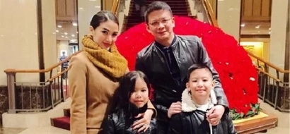 Heart Evangelista enjoys vacation with Chiz's twins from previous marriage