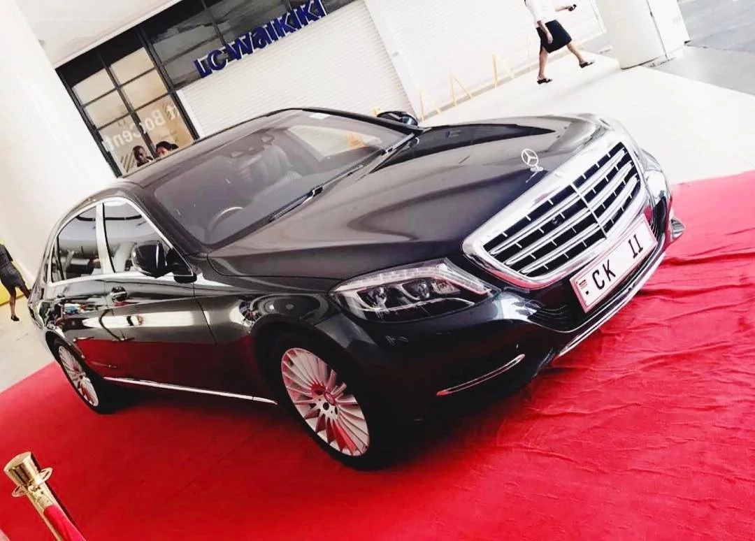 Billionaire shows off his 40 million car at Kenya's newest mall