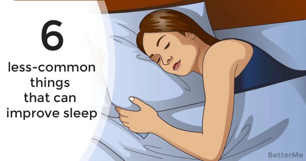 6 less-common things that can improve sleep