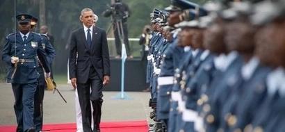 Barack Obama, Uhuru Kenyatta Meet At State House
