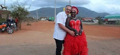 Singer Nyoto Ndogo defends her marriage to an elderly white partner