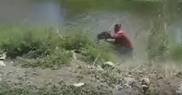 He Hits Monkey With Shoe But Sh*t — Monkey STRIKES BACK (Video)