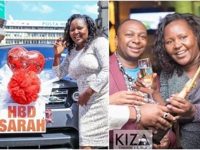 Mwanamke aliyepatiwa zawadi ya Range Rover na mumewe azungumza hatimaye (picha)