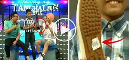 "May budget siya! Watch Vice Ganda reveal the shocking price of Jhong Hilario's shoes on ""It's Showtime!"""