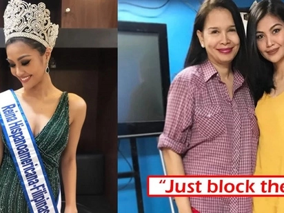 Tumanda na sa showbiz! Winwyn Marquez receives sound advice from aunt Melanie Marquez on how to deal with bashers