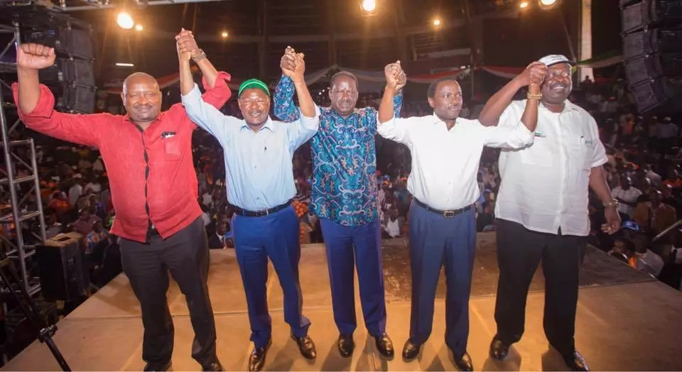 'Five selfish men who just want leadership positions'- Uhuru tears into NASA