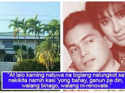 Binalikan ang alaala ng kahapon! Fan revisits Sharon Cuneta and Gabby Concepcion's old house
