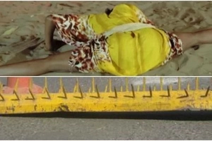 This is how Taita women dangerously use police spikes to become the queens in bed