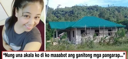 Pangarap lang noon, ini-enjoy na ng pamilya ngayon! OFW inspires other Pinoys to work hard and be patient when building one's home for family