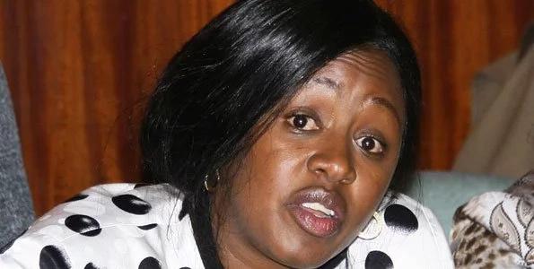 Sabina Chege wants to be Ruto's running mate