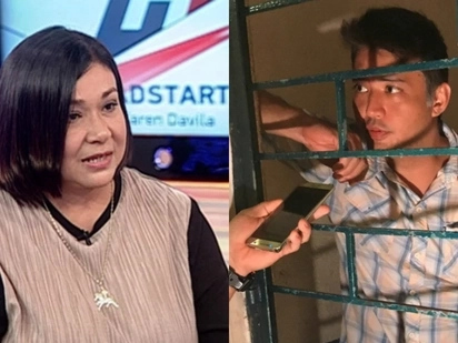 Dasal lang! Alma Moreno asks followers to pray for detained son