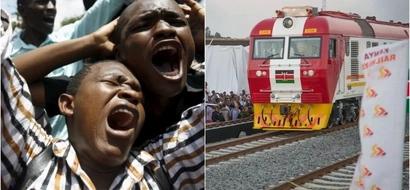 Gari la moshi la kisasa lahusika katika ajali likielekea Mombasa, ng'ombe afariki