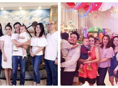 Chito Miranda & Neri Naig's son Miggy celebrated his 1sts birthday with Star Circle Quest alumni! He was also baptized on the same day