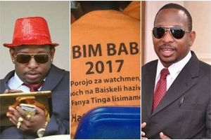 ODM supporters CONTROVERSIALLY show support to Jubilee's Mike Sonko (VIDEO)