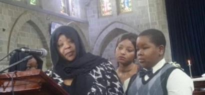 Video: Jacob Juma's 9-year-old son gives tearful tribute to slain father