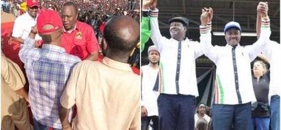 Mtoto mdogo sana achagua kati ya Jubilee na NASA katika video ya kufurahisha