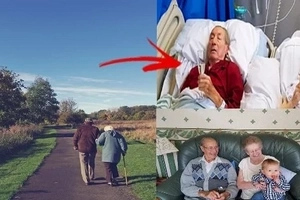 A Beautiful Story Of Undying True Love! Husband Requested To Be Moved Beside His Dying Wife.