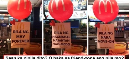 Relate na relate sa puso! Viral McDonald's Valentine's Day gimmick nails the 5 kinds of 'hearts' during V-Day