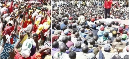 Kenyans go insane after DP Ruto holds three rallies in one day
