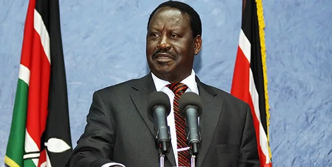 Raila takes on Uhuru