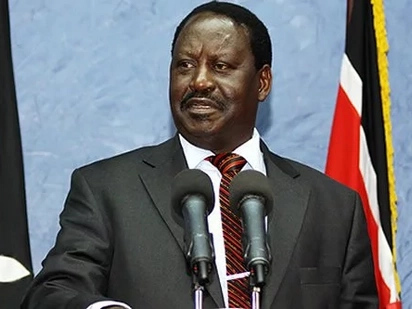 Raila is a master of preaching water and taking wine