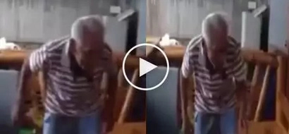 VIRAL: Old man dancing #RunningManChallenge proves that age is just a number