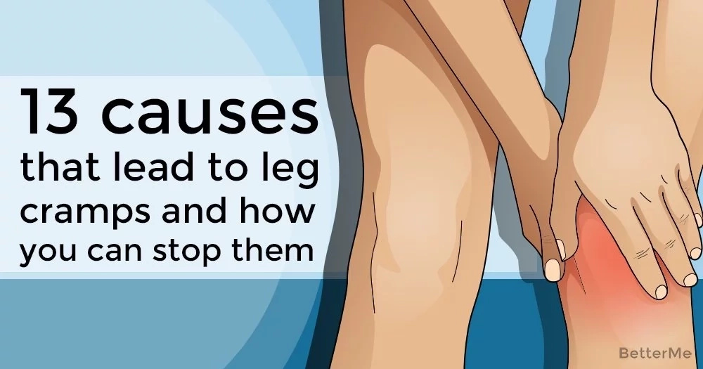 13 causes that lead to leg cramps