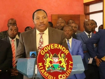 Good job - Waititu lauds his MCAs after passing controversial law compelling companies in Kiambu to employ locals