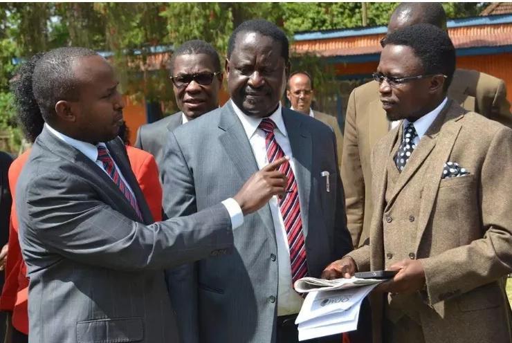 Joho kuongoza kikosi cha kampeni za Raila Odinga