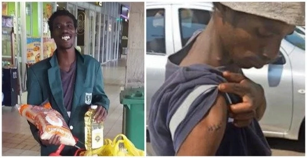 See what happened to man who was stabbed 5 times by thieves (photos)