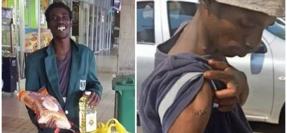 Not all heroes wear capes! Locals reward man who was stabbed 5 times while preventing car theft (photos)
